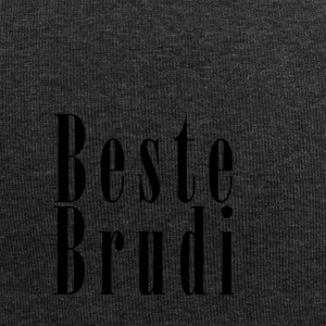 Brudi_black - Beanie in jersey