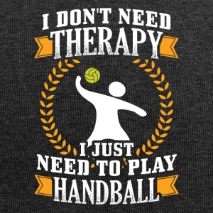 Handball I DONT NEED THERAPY - Jersey Beanie