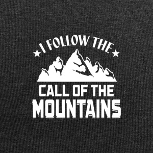 Follow the Call of the Mountains! - Jersey-Beanie