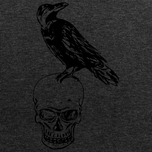 Raven Of Death - Beanie in jersey
