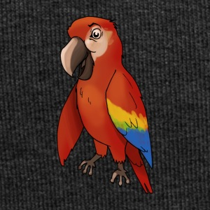 Parrot uccelli uccello gabbia Finch canarino - Beanie in jersey