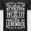 1977 - 40 ar - Legender - 2017 - SE - Men's Long Body Urban Tee