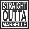 Straight outta Marseille - T-shirt long Homme
