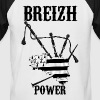 breizh power 3 - T-shirt baseball manches courtes Homme