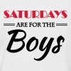 Saturdays are for the boys - Men's Baseball T-Shirt