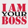 I am your Boss - Men's Baseball T-Shirt