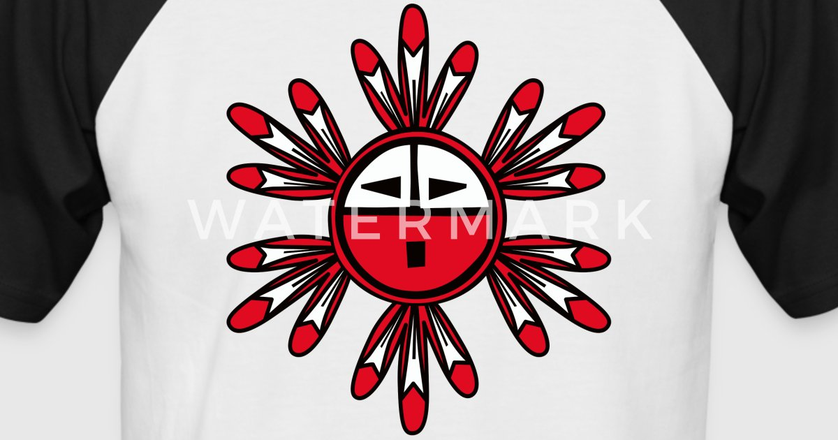 Hopi Kachina Sun Symbol by BranBran | Spreadshirt Hopi Sun Symbol