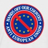 Hands Off Our Country - Anti EU - Men's Baseball T-Shirt