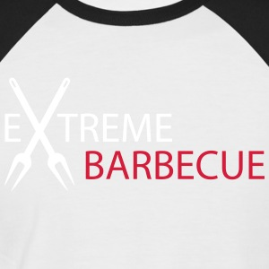 Extreme Barbecue - Men's Baseball T-Shirt