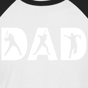 DAD - Männer Baseball-T-Shirt