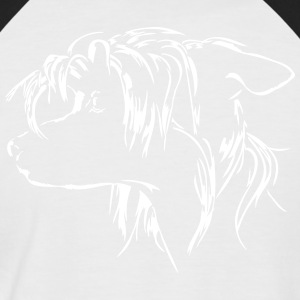 CHINESE CRESTED DOG - Men's Baseball T-Shirt