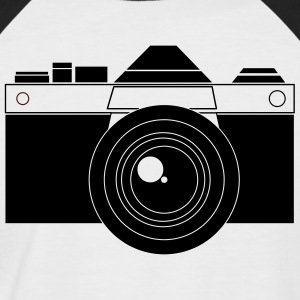 Camera Vector - Men's Baseball T-Shirt