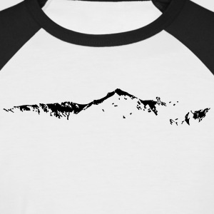 Skyline Swiss Mountain - T-shirt baseball manches courtes Homme