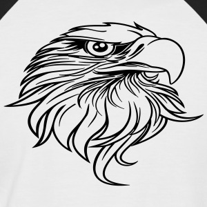 eagle head - Men's Baseball T-Shirt