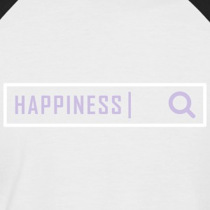 Search happiness - Men's Baseball T-Shirt