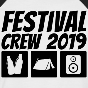 Festival Crew 2019 - Men's Baseball T-Shirt