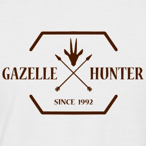 Gazelle HUNTER - Männer Baseball-T-Shirt