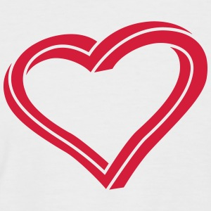 Twisted Heart - Men's Baseball T-Shirt