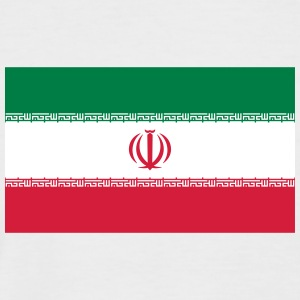 Nationalflagge des Iran - Männer Baseball-T-Shirt
