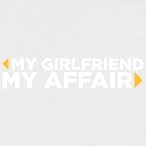 My Girlfriend. My Affair. - Men's Baseball T-Shirt