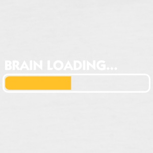 Brain Loading - Men's Baseball T-Shirt