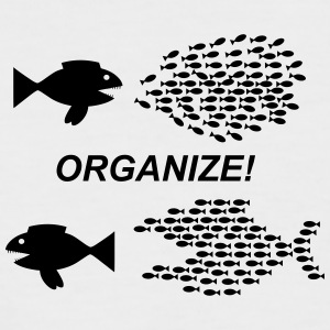 Organize! - Men's Baseball T-Shirt