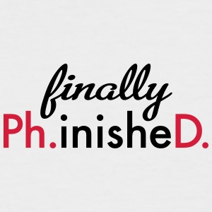Ph.D. - Men's Baseball T-Shirt