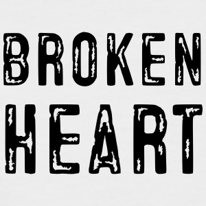 Broken Heart - Men's Baseball T-Shirt