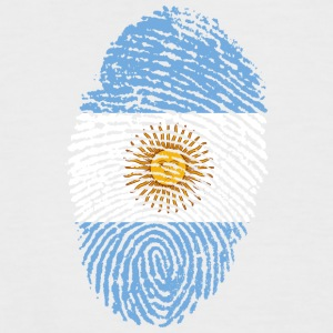 Fingerprint - Argentina - Men's Baseball T-Shirt