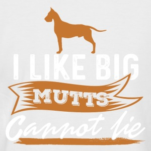 gros chien - T-shirt baseball manches courtes Homme
