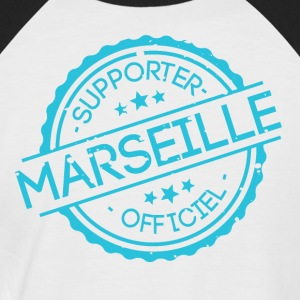 Supporter Marseille - Männer Baseball-T-Shirt