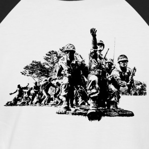 Korean War - Männer Baseball-T-Shirt