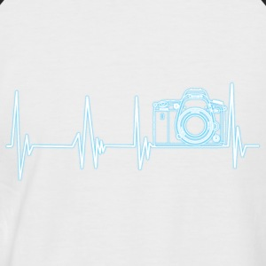 Heartbeat Photographie - T-shirt baseball manches courtes Homme