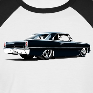 Chevy II Nova Super Sport Back - T-shirt baseball manches courtes Homme