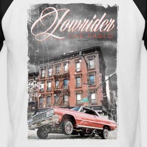 Lowrider - San Pablo Clothing co. - T-shirt baseball manches courtes Homme