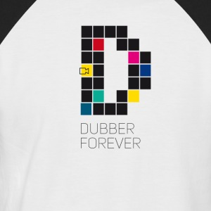 dub dubber forever Music Video Game Trend d pixel - Männer Baseball-T-Shirt