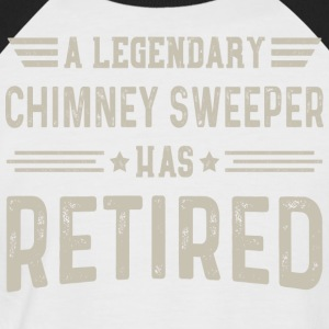 En Legendary Chimney Sweeper har pensjonert - Kortermet baseball skjorte for menn