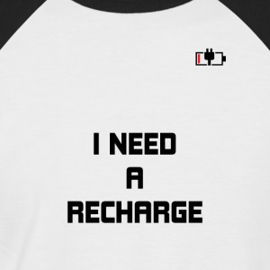 Recharger - T-shirt baseball manches courtes Homme