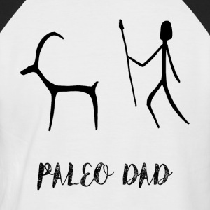 paleo dad, paleo diet t shirt - Men's Baseball T-Shirt