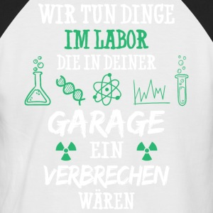 Chimie / Laboratoire / Laboratoire / Sciences / Technicien de laboratoire / chimiste - T-shirt baseball manches courtes Homme