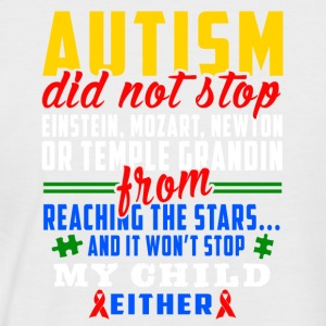 Autism does not stop - Men's Baseball T-Shirt