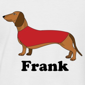 FrankDog - Men's Baseball T-Shirt