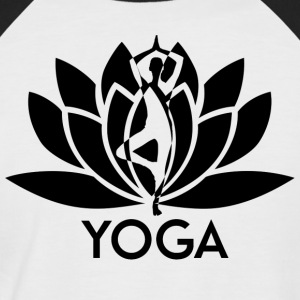 ++ ++ Yoga Flower - Men's Baseball T-Shirt
