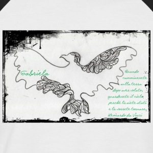elegant eagle - Men's Baseball T-Shirt
