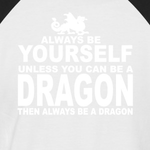 always be a dragon - Camiseta béisbol manga corta hombre