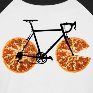 Pizza Bike - T-shirt baseball manches courtes Homme