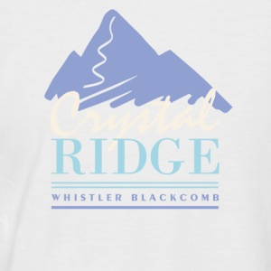 Crystal Ridge - Men's Baseball T-Shirt