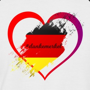 thank merkel - Men's Baseball T-Shirt