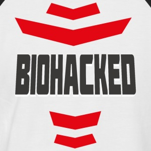 BIOHACKED - Men's Baseball T-Shirt