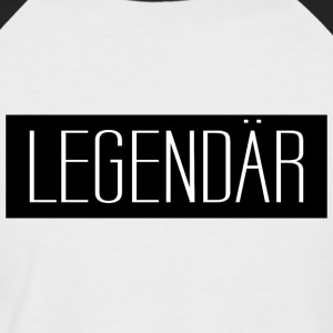 Legendär 001 AllroundDesigns - Männer Baseball-T-Shirt